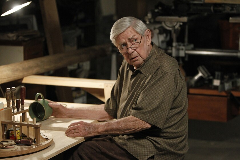 """Ralph Waite, as Jackson Gibbs, in """"NCIS."""" Waite, 85, who played the father in the hit TV series """"The Waltons,"""" died Thursday."""