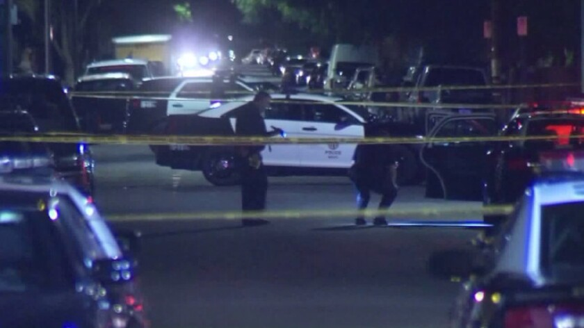 Bystander killed by stray bullet