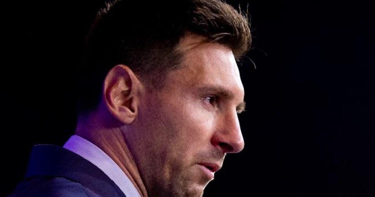 La imponente última foto de Messi con el Barcelona - Los Angeles Times