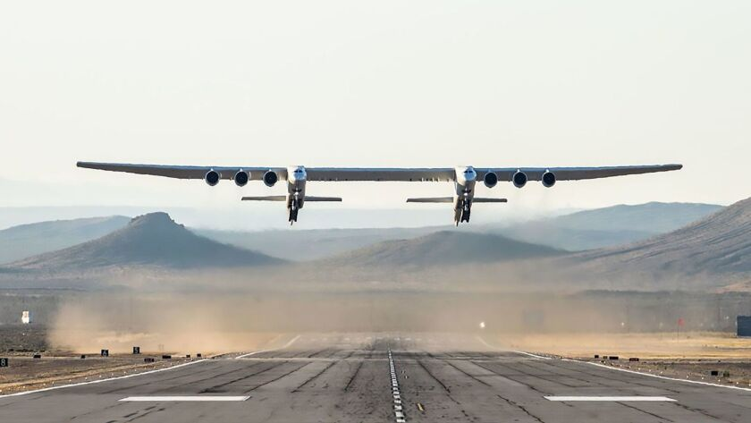 Stratolaunch gets a mysterious new owner, a year after Paul Allen's death