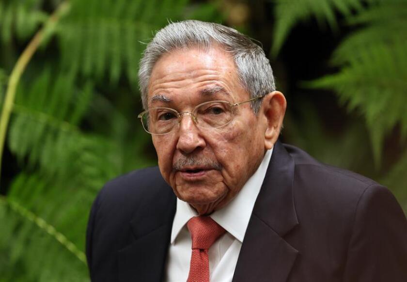 El presidente de Cuba, Raúl Castro. EFE/Archivo