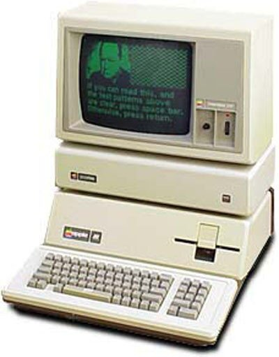 The product: Apple III PC