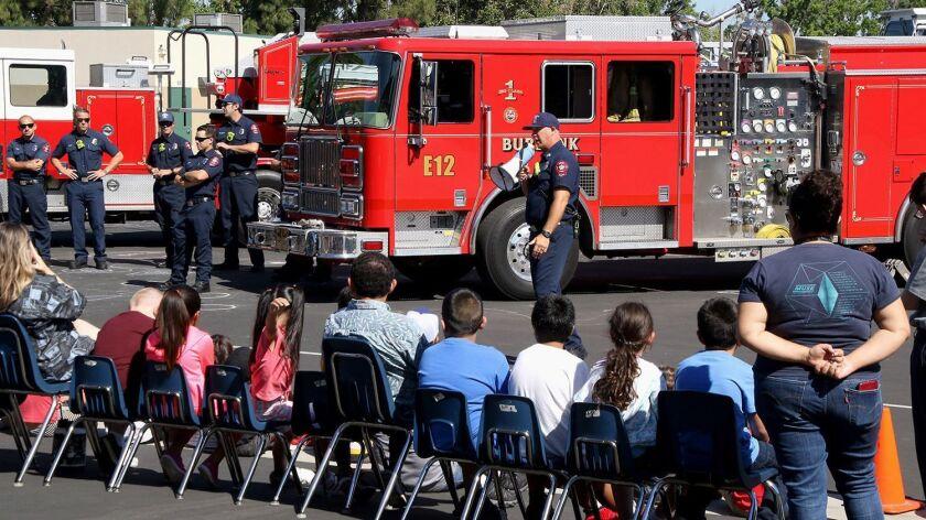Stevenson Summer School Safety with BPD & BFD (© Ross A Benson)
