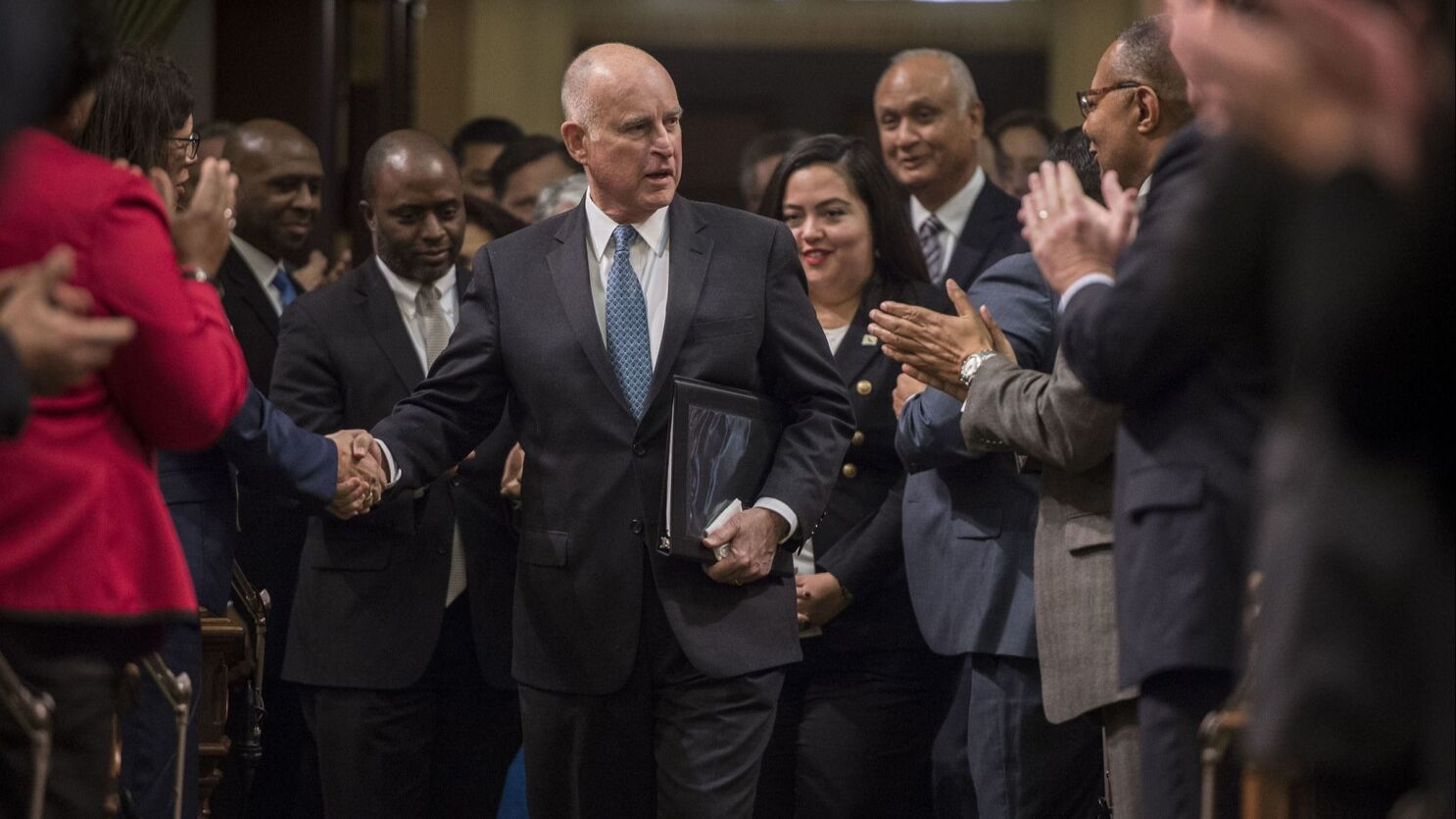 California To Have Highest Paid Governor As State Panel Gives Lawmakers 3 Pay Raise Los Angeles Times