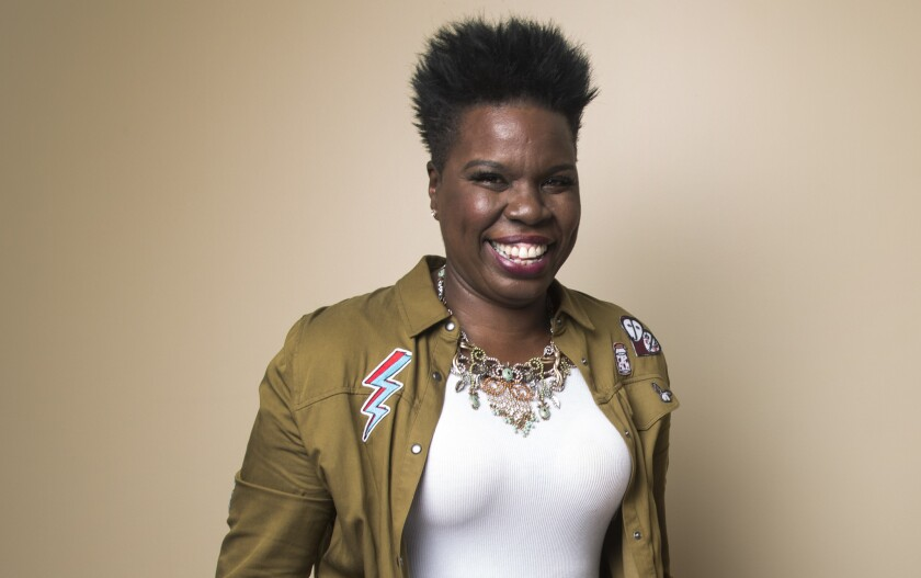 "After a five-year run on ""Saturday Night Live,"" Leslie Jones is saying goodbye to the late-night comedy show."