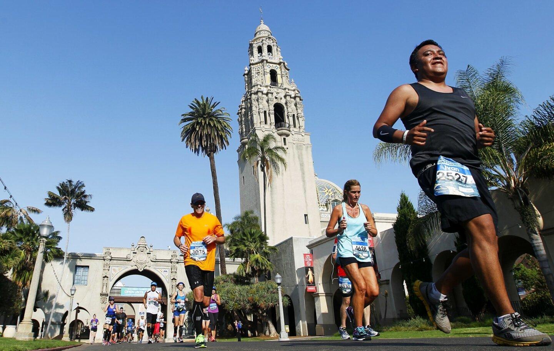 America's Finest City Half Marathon 2016