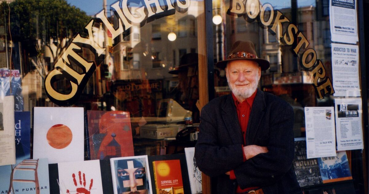 Lawrence Ferlinghetti dead: San Francisco poet, bookseller was 101 - Los Angeles Times