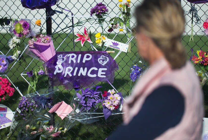 Minneapolis mourns its native son Prince