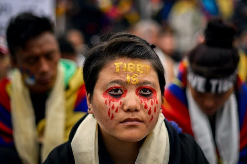 Free Tibet activist