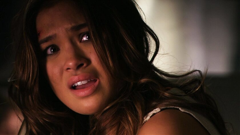 """Nicole Gale Anderson in a scene from """"Red Line."""" The thriller, about a bomb attack on the Los Angeles subway system, was shot almost entirely in San Diego. Directed by former San Diegan Robert Kirbyson, it screens 6 p.m. Sept. 29 in the Gaslamp and at 5:30 p.m. Sept. 30 at the Museum of Contemporary Art, La Jolla. Courtesy Yellow Line Pictures"""