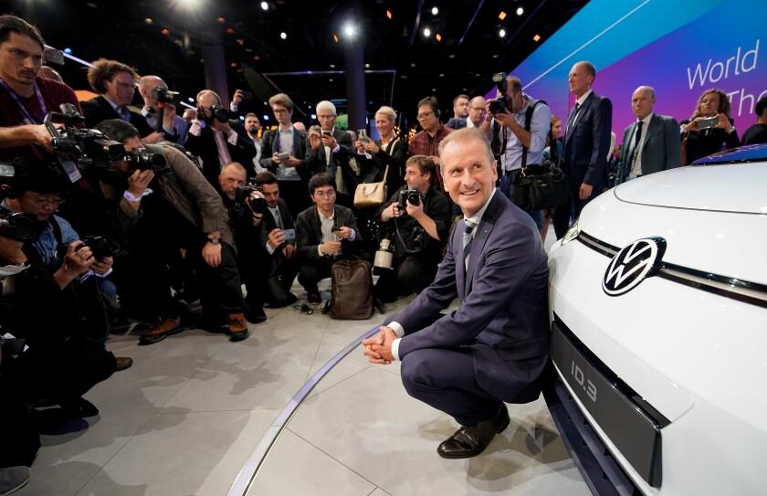 Volkswagen AG CEO Herbert Diess