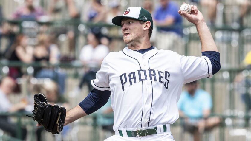 Padres pitching prospect Nick Margevicius started 2018 at low Single-A Fort Wayne.