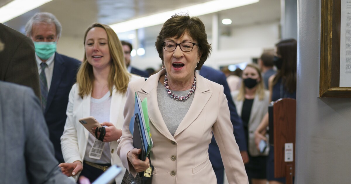 Sen. Susan Collins says she would oppose abortion-rights bill