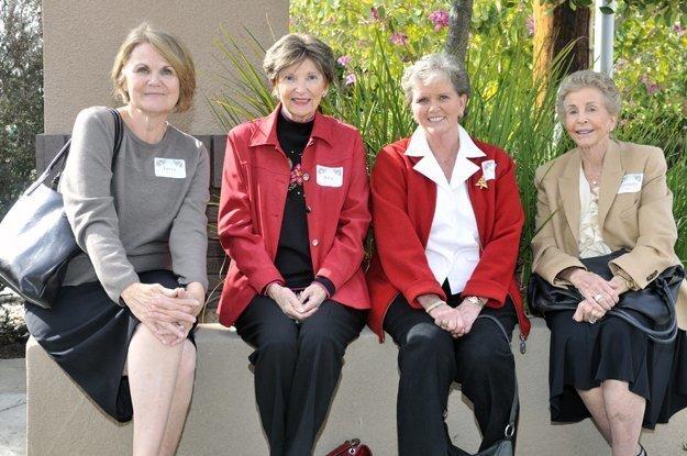 Terry Drainer, Rita Bleecker, Mona Nelson, Jeanette Web