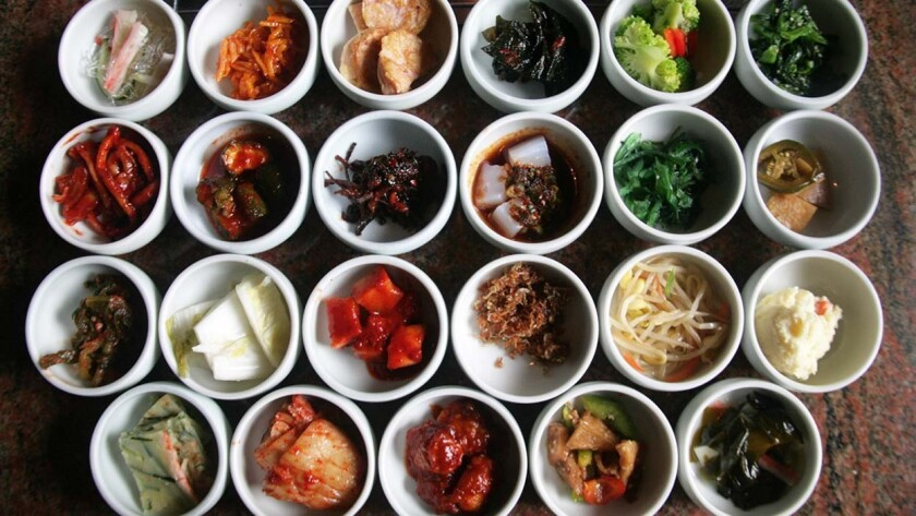 Genwa serves up a whopping 23 side dishes at both their locations.