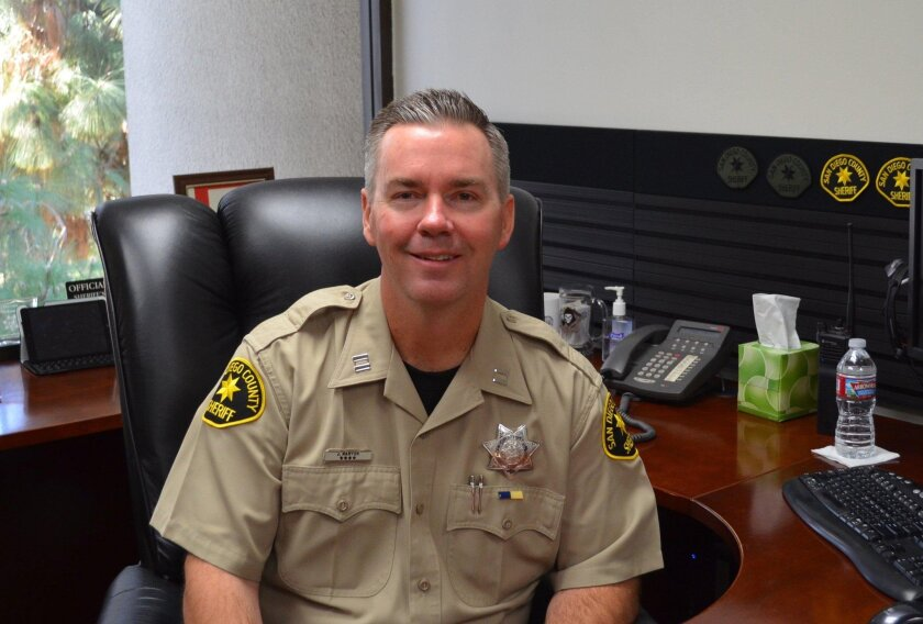 Sheriff's Capt. John Maryon recently took the reins.