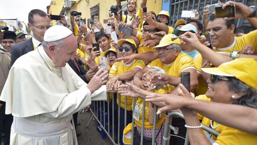 PERU-POPE-VISIT