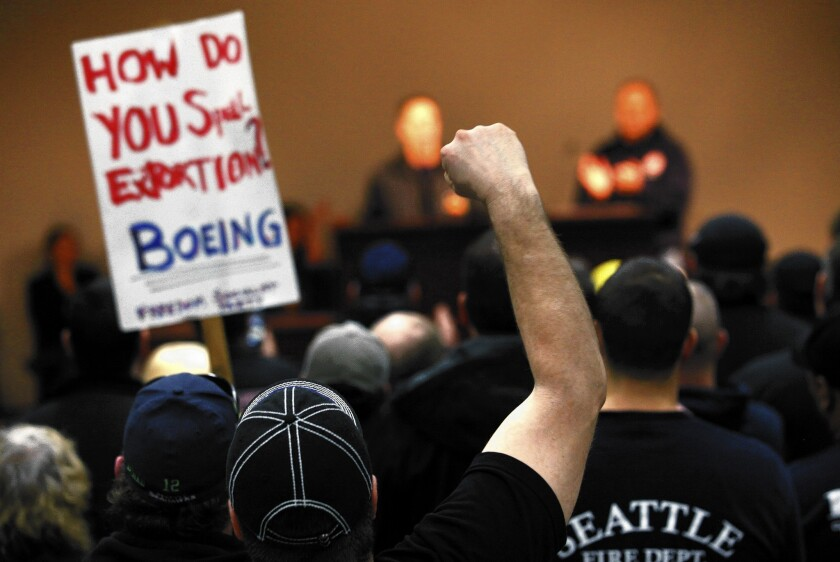 Boeing labor contract
