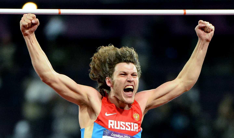 High jump winner