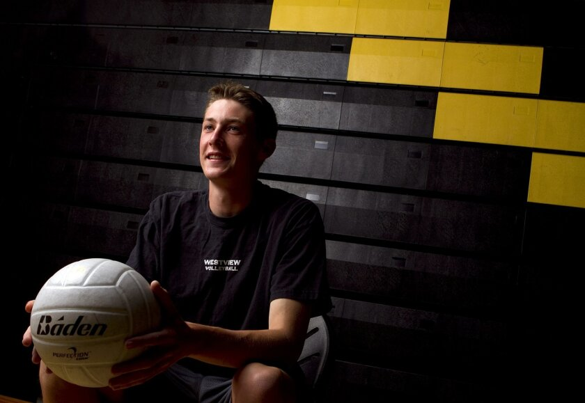 Bennett Bird has put away the drums as he has fallen in love with volleyball.