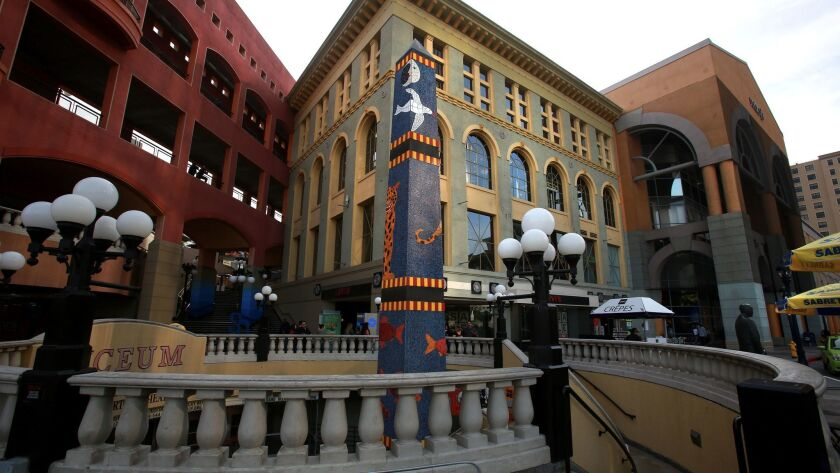 Horton Plaza has a history as a central structure of retail commerce in the heart of San Diego.