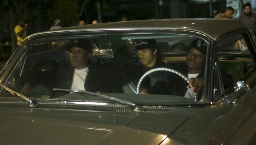 Straight Outta Compton' comes out Friday: Pre-game by