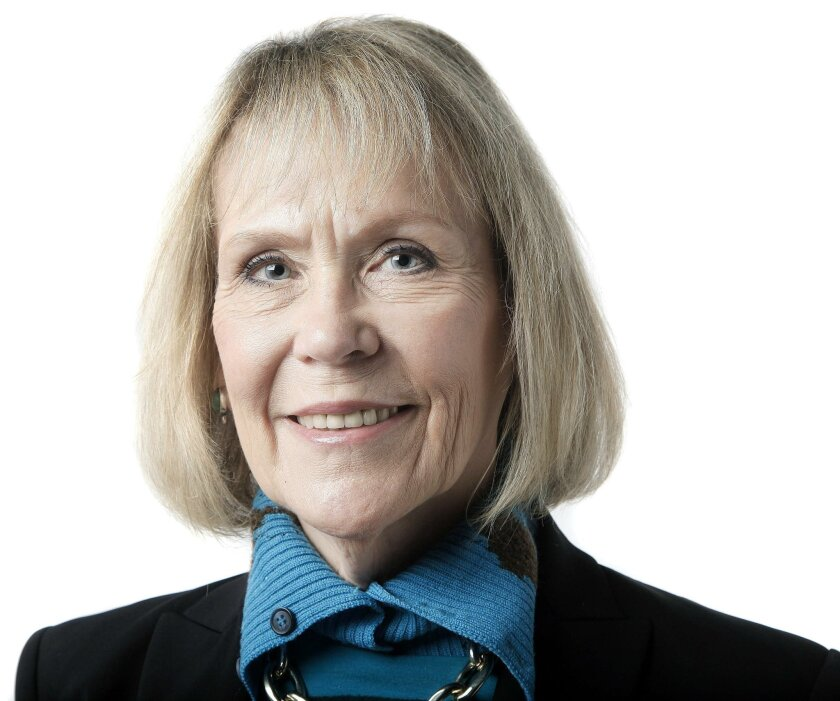 Margaret Leinen, Director of Scripps Institution of Oceanography and Vice Chancellor of marine science UCSD.