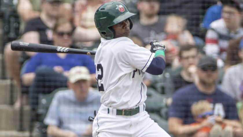 Second baseman Esteury Ruiz opened the 2018 season at low Single-A Fort Wayne, the Padres' Midwest League affiliate.