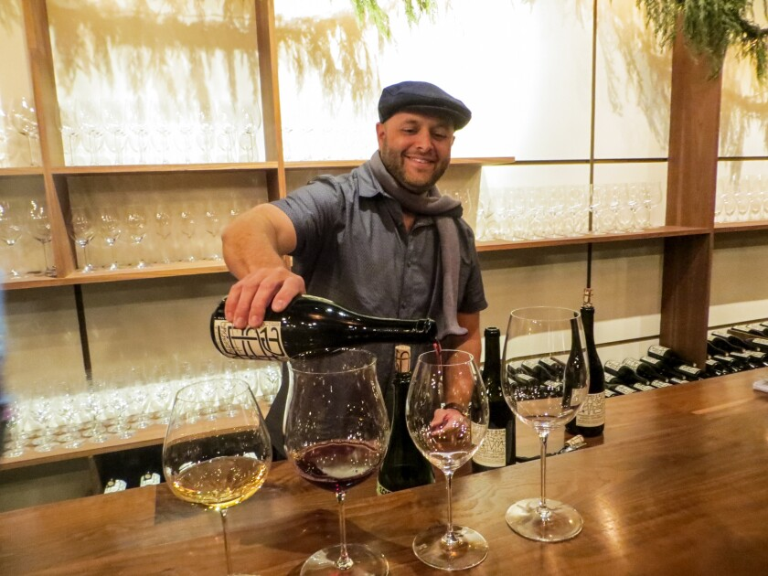 Stately Santa Barbara has a few surprises up its sleeve these days. One is the Mill, a converted 1904 feed mill in a former industrial part of town. Among the businesses there is Potek Winery, which pours its wines in a tasting room.