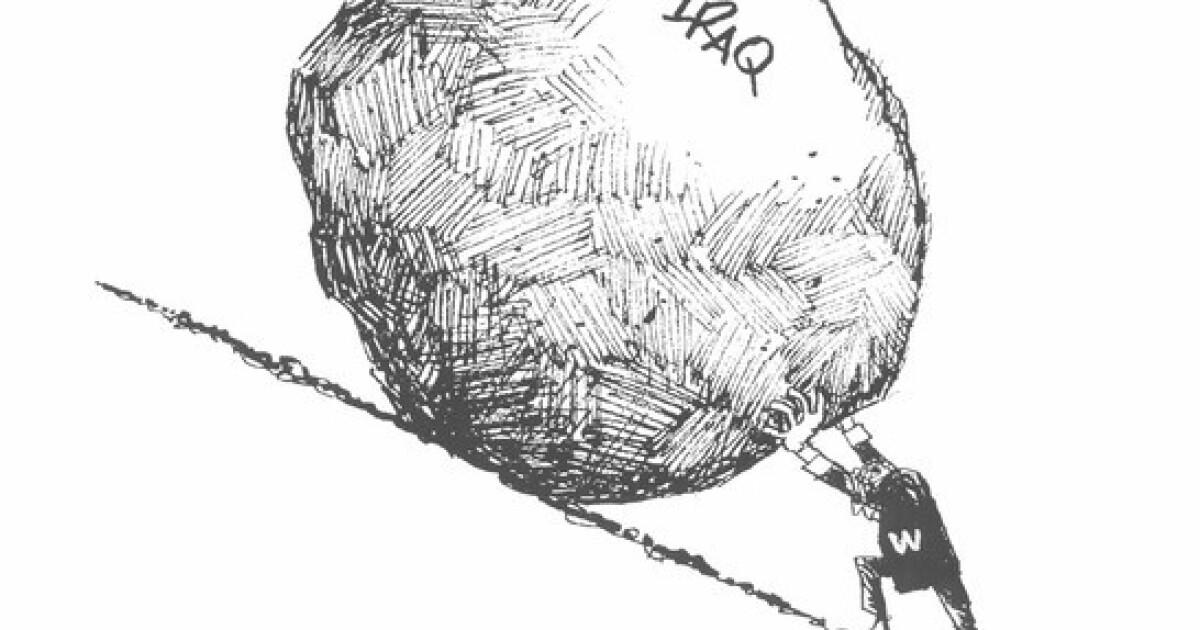 Images: Times political cartoonist Paul Conrad, winner of 3 Pulitzers, dies at 86
