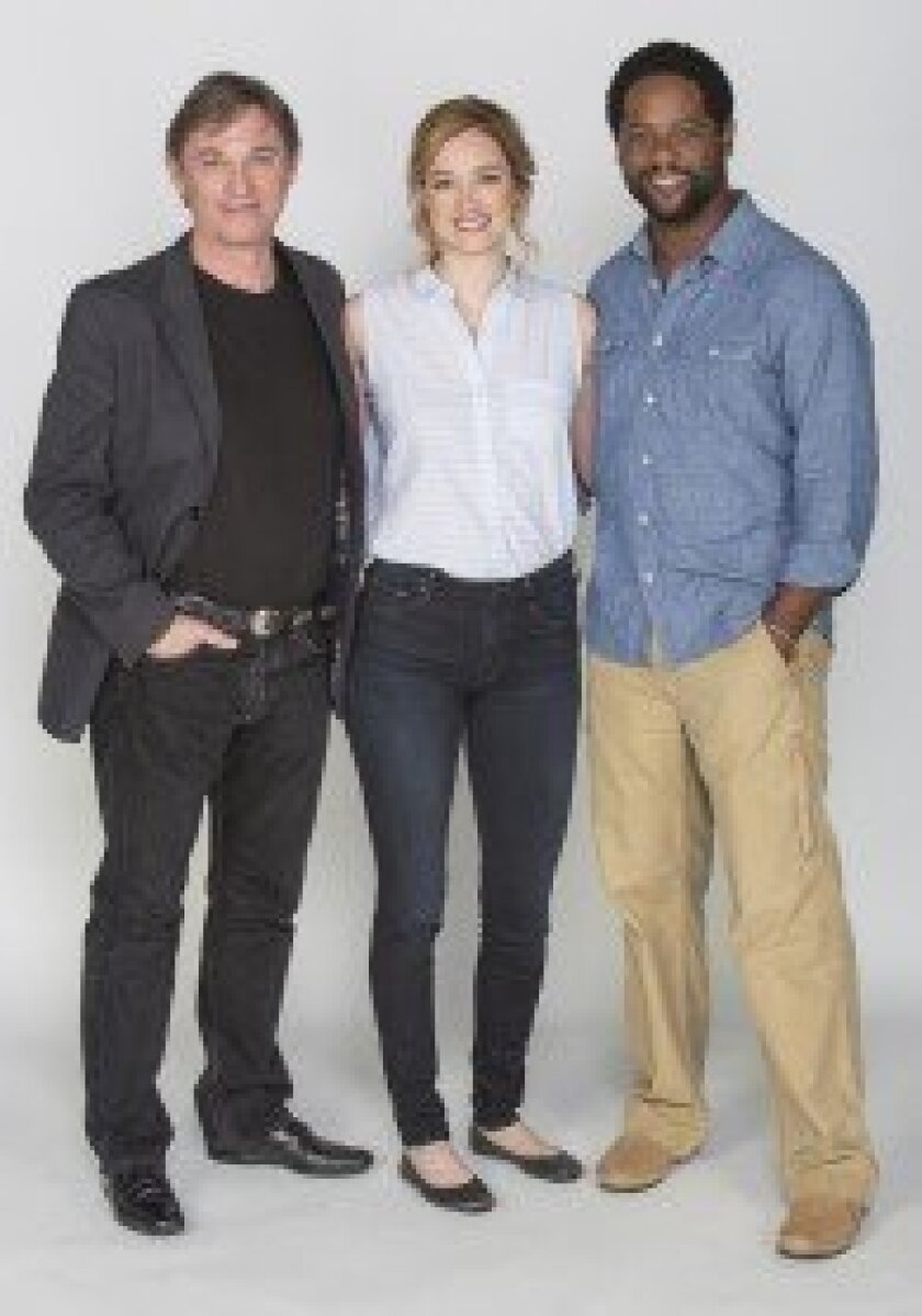 The Old Globe Theatre's production of 'Othello' stars Richard Thomas as Iago, Kristen Connolly as Desdemona and Blair Underwood as Othello.  Jim Cox