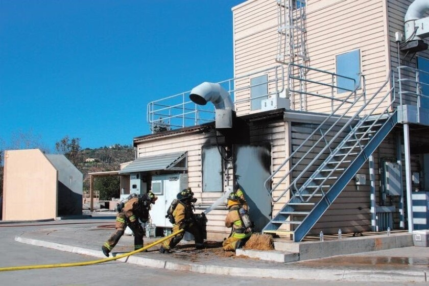 RSF Fire Protection District's training tower provides a realistic training environment.