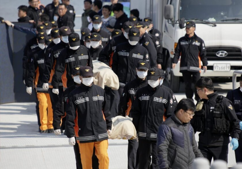 South Korea ferry victims