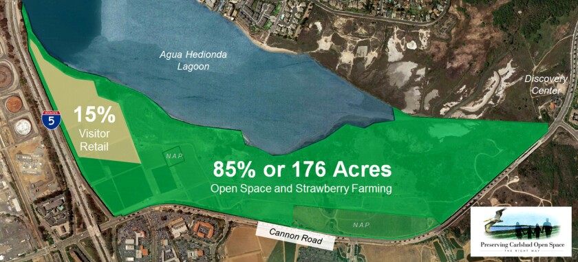 Caruso Affiliated was seeking to expedite its proposal for a shopping, entertainment and open-space development near the Agua Hedionda Lagoon in Carlsbad. Measure A was defeated by about 1,600 votes.