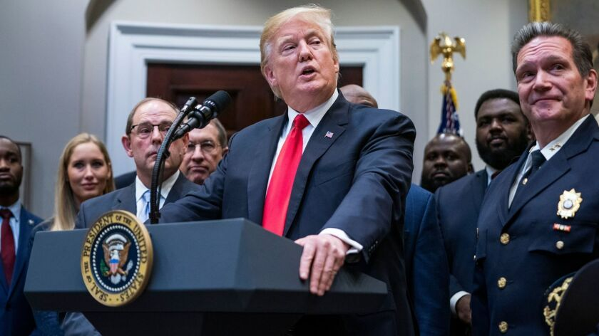 President Trump speaks on First Step Act at White House, Washington, USA - 14 Nov 2018