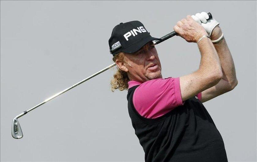 El golfista Miguel Ángel Jiménez. EFE/Archivo