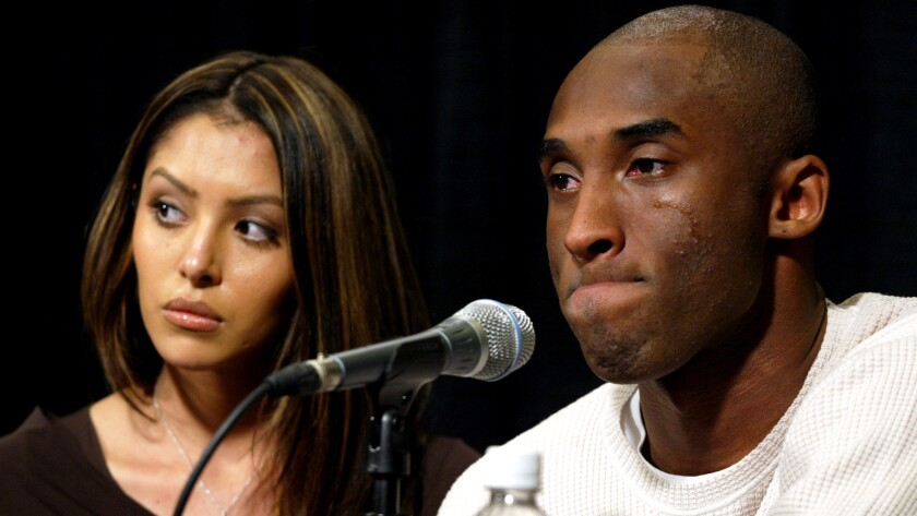 Letters to the Editor: Without a guilty verdict, no one can say Kobe Bryant committed sexual assault