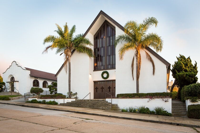 In 1958, La Jolla Christian Fellowship's present sanctuary building was built next to the old church.