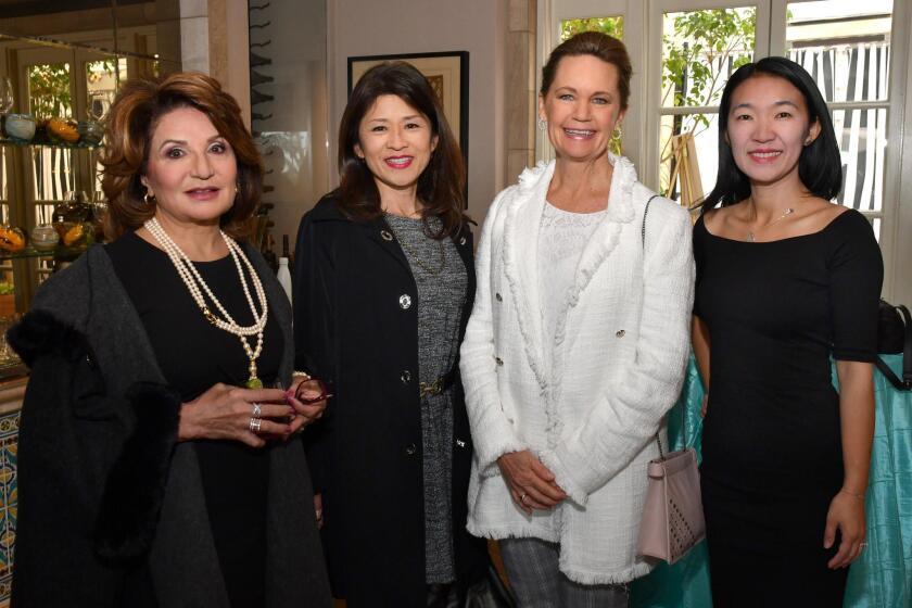 Frieda Alinejad, Yumiko Ishidashi, Pamela Starmack, Kay Wolf