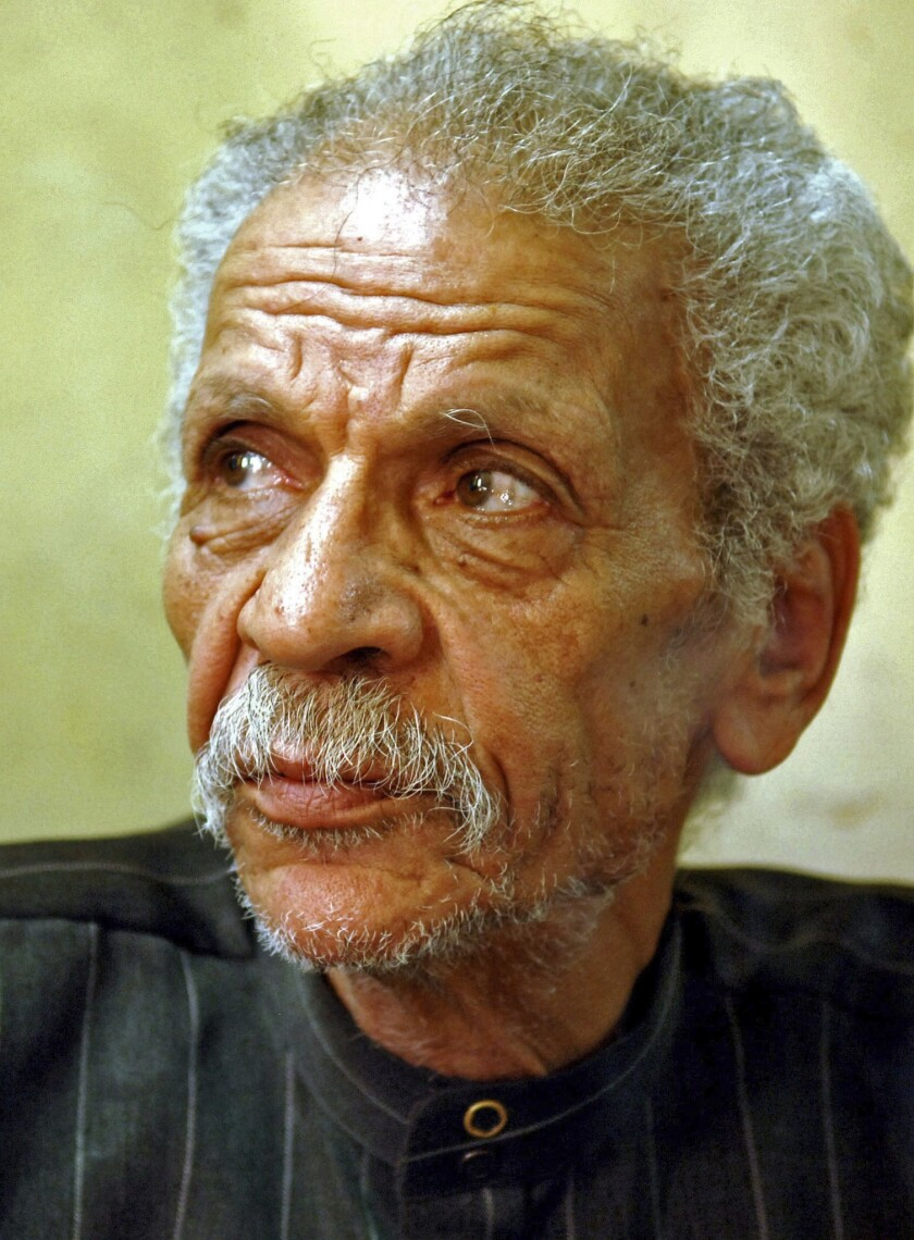 Ahmed Fouad Negm wrote his poetry in colloquial Arabic.