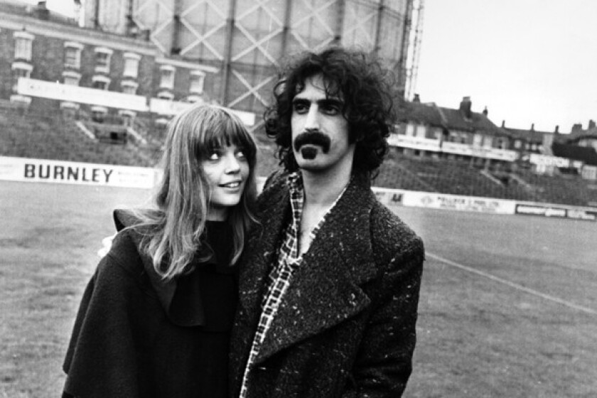 A portrait of musician Frank Zappa and his wife Gail, September 15th, 1972.