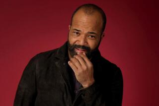 What the heck is Jeffrey Wright doing with those glasses during 'Westworld'? We asked him