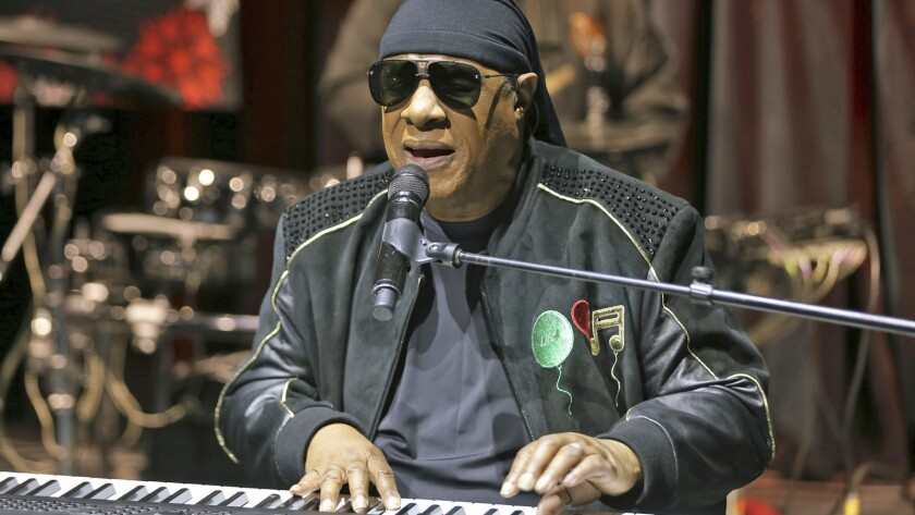 Stevie Wonder performs in Los Angeles in November 2018.