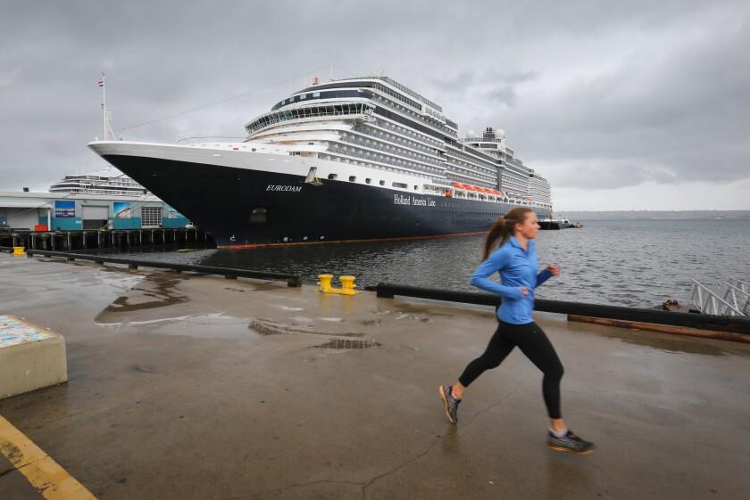 Holland America Line cruise ship, MS Eurodam.