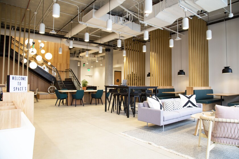 Interior of Spaces Makers Quarter