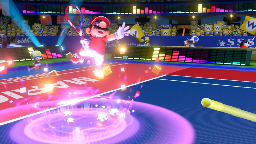 Review: 'Mario Tennis Aces' almost a grand slam despite control issues