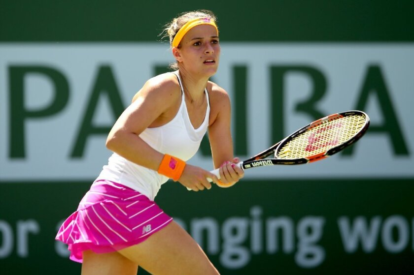 Nicole Gibbs is beaten at Indian Wells, but only after an encouraging run