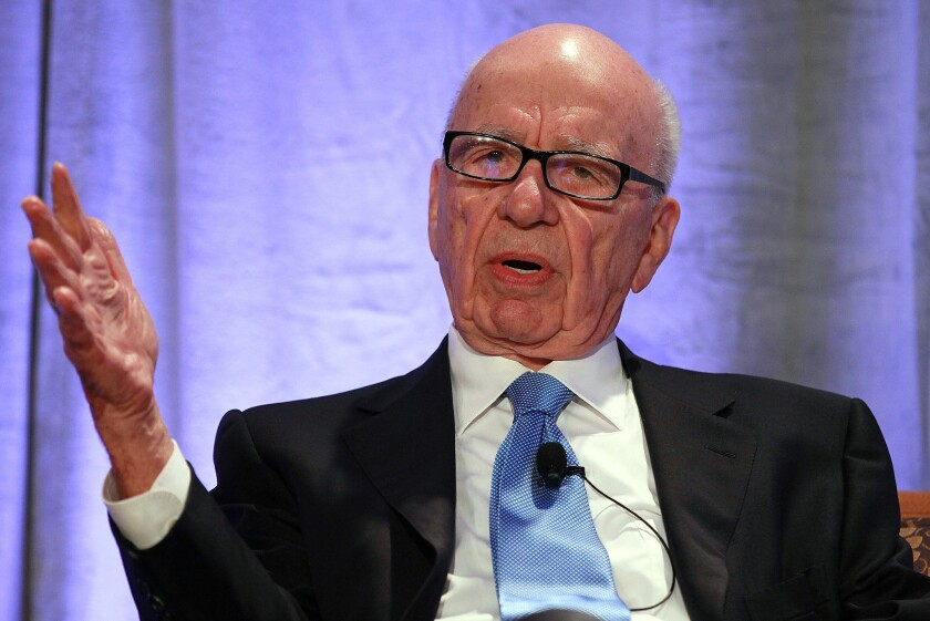 """21st Century Fox is a name that draws upon the rich creative heritage of Twentieth Century Fox, while also speaking to the innovation and dynamism that must define each of our businesses through the 21st Century,"" Murdoch said in an email message announcing the name of his soon-to-be-reconstituted film and television company. Above, Murdoch in October 2011."
