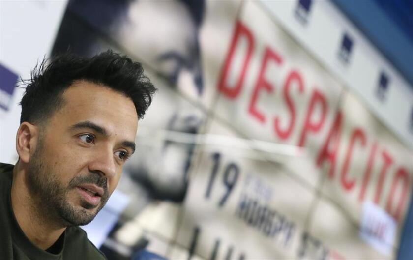 En la imagen, el cantante puertorriqueño Luis Fonsi. EFE