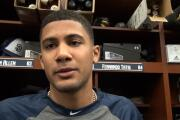 Padres shortstop Fernando Tatis Jr. arrives to Spring Training